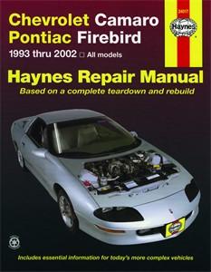 Haynes Reparationshandbok, Chevrolet Camaro Pontiac Firebird, Universal