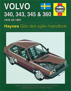 Haynes Reparationshandbok, Volvo 340, 343, 345 & 360, Universal