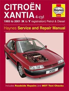 Haynes Reparationshandbok, Citroën Xantia Petrol & Diesel, Universal