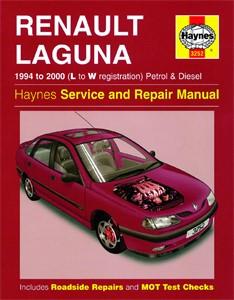 Haynes Reparationshandbok, Renault Laguna Petrol & Diesel, Universal