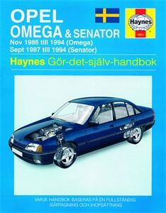 Haynes Reparationshandbok, Opel Omega & Senator, Universal