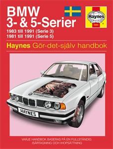 Haynes Reparationshandbok, BMW 3- & 5-serie, Universal
