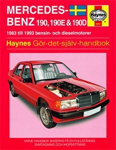 Haynes Reparationshandbok, Mercedes-Benz 190, 190E & 190D, Universal