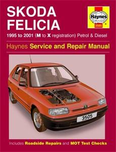 Haynes Reparationshandbok, Skoda Felicia Petrol & Diesel, Universal