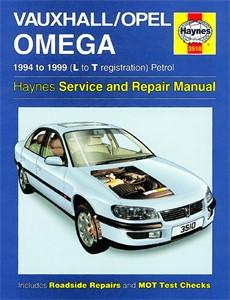 Haynes Reparationshandbok, Vauxhall/Opel Omega Petrol, Universal