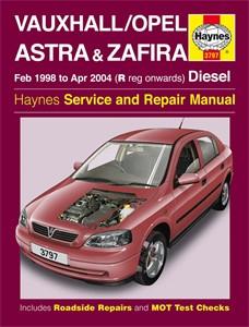 Haynes Reparationshandbok, Vauxhall/Opel Astra & Zafira, Universal
