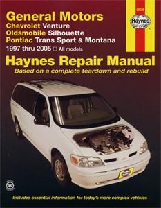 Haynes Reparationshandbok, GM: Venture, Trans Sport, Universal