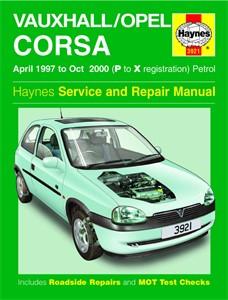 Haynes Reparationshandbok, Vauxhall/Opel Corsa Petrol, Universal