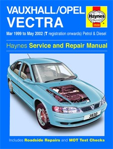 Haynes Reparationshandbok, Vauxhall/Opel Vectra, Universal