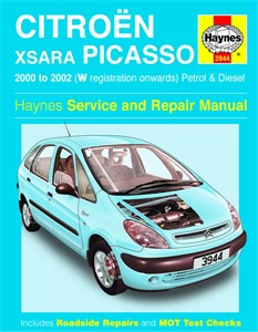 Haynes Reparationshandbok, Citroën Xsara Picasso, Universal