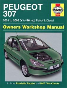 Haynes Reparationshandbok, Peugeot 307 Petrol & Diesel, Universal