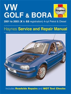 Haynes Reparationshandbok, VW Golf & Bora 4-cyl, Universal