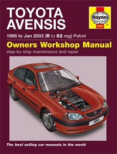Haynes Reparationshandbok, Toyota Avensis Petrol, Universal