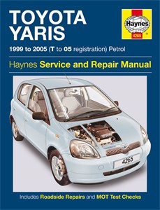 Haynes Reparationshandbok, Toyota Yaris Petrol, Universal