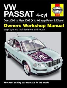 Haynes Reparationshandbok, VW Passat Petrol & Diesel, Universal