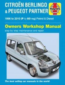 Haynes Reparationshandbok, Citroën Berlingo, Universal
