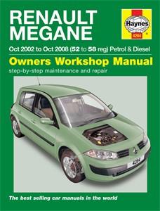 Haynes Reparationshandbok, Renault Mégane Petrol & Diesel, Universal