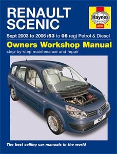 Haynes Reparationshandbok, Renault Scénic Petrol & Diesel, Universal