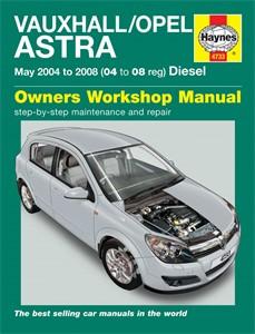 Haynes Reparationshandbok, Vauxhall/Opel Astra Diesel, Universal