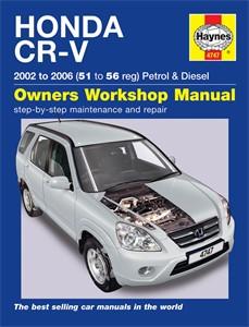 Haynes Reparationshandbok, Honda CR-V Petrol & Diesel, Universal