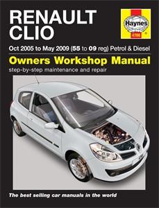 Haynes Reparationshandbok, Renault Clio Petrol & Diesel, Universal
