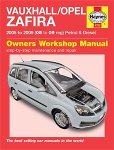 Haynes Reparationshandbok, Vauxhall/Opel Zafira, Universal
