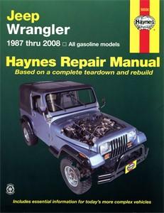 Haynes Reparationshandbok, Jeep Wrangler, Universal