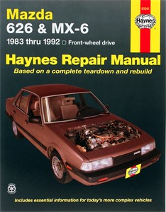 Haynes Reparationshandbok, Mazda 626 & MX-6 (FWD), Universal