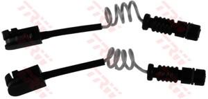 Varningssensor, bromsbeläggslitage, Bakaxel, Framaxel