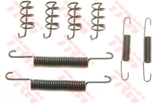 Accessory Kit, park brake shoes, Rear axle
