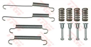 Accessory Kit, park brake shoes, Rear axle