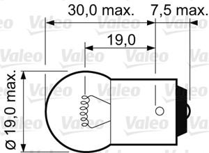 Bulb, auxiliary stop light