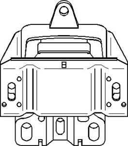 Bussning, automatväxellåda, Vänster