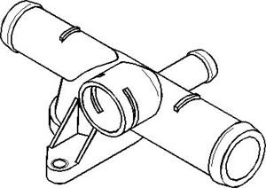 Reservdel:Volkswagen Golf Rördel, motorkylning