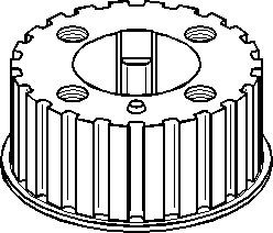 Reservdel:Volkswagen Lt 28-46 Kugghjul, vevaxel