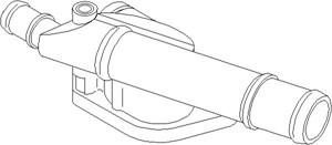 Reservdel:Seat Altea Rördel, motorkylning