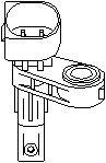 Sensor, hjulturtall, Bakaksel, Framaksel, Framaksel høyre, Framaksel venstre, Høyre bakaksel, Høyre