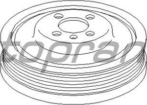 Reservdel:Audi Q5 Remskiva, vevaxel
