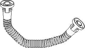 Slange, ventildækseludluftning