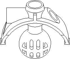 Reservdel:Audi 80 Kulhuvud, växellänkage