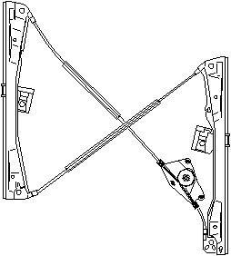 Reservdel:Seat Ibiza Fönsterhiss, Vänster fram