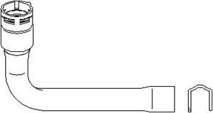 Radiatorslange, Øvre