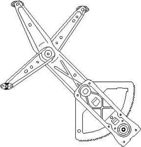 Reservdel:Opel Combo Fönsterhiss, Vänster fram