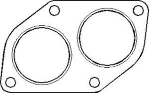 Reservdel:Opel Combo Packning, avgasrör, Fram