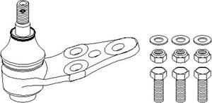 Repair Kit, support-/steering link, Front, left or right