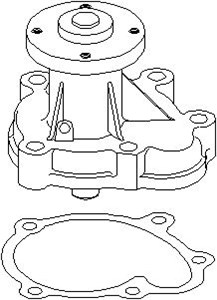 Reservdel:Opel Combo Vattenpump