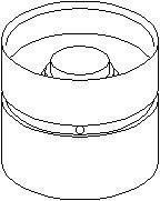 Reservdel:Bmw 520 Vevtapp / ventillyftare
