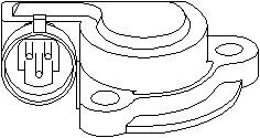 Reservdel:Opel Combo Sensor, gasspjäll