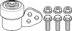 Reservdel:Opel Combo Bussning, länkarm, Fram, Framaxel, Fram, höger eller vänster, Höger eller vänster, Höger, Nedre, Vänster