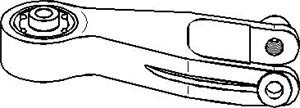 Reservdel:Opel Combo Motorkudde, Bak
